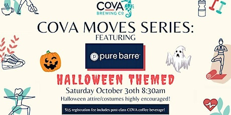Halloween Barre & Brew Outdoor Pop-Up Class at COVA Brewing Co. tickets