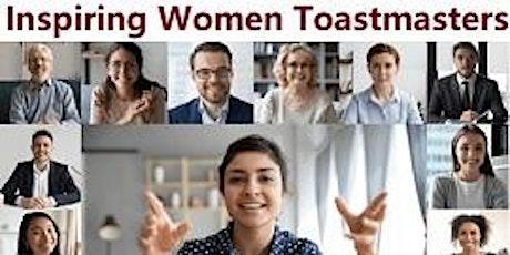 Inspiring Women Toastmasters Meeting tickets