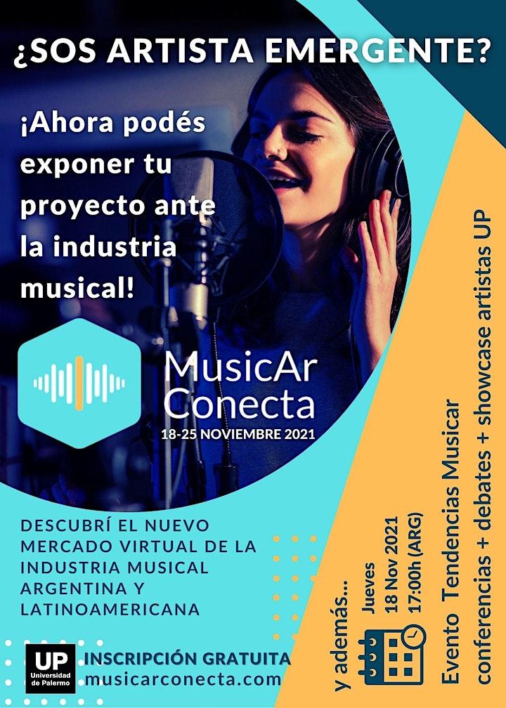 Imagen de Tendencias MusicAr Conecta