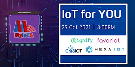 IoT For You 10 tickets