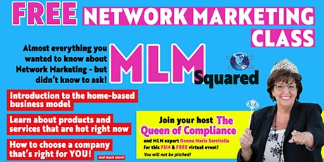 MLM Squared - Free Introduction to Network Marketing tickets