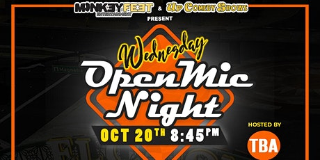 Wednesday Open Mic Night at The Grand El Cajon - 10/20 - 8:45pm tickets