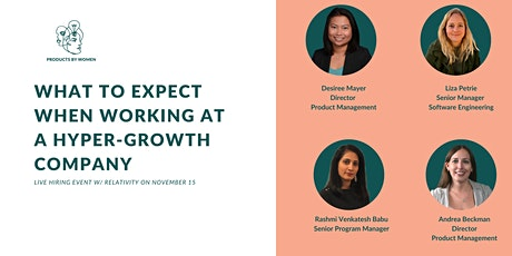 What To Expect When Working at a Hyper-growth Company tickets