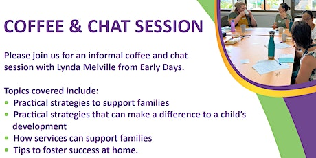 Early Days Coffee & Chat - Darwin tickets