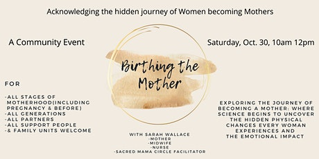 Birthing the Mother tickets