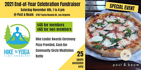 2021 Hike to Yoga End-of-Year Celebration Fundraiser tickets