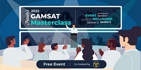 Free GAMSAT Masterclass   In-Person   Cohosted by UWA Science Union tickets