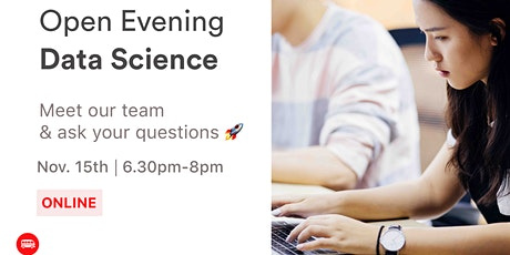 Open Evening: Le Wagon's Data Science Bootcamp tickets