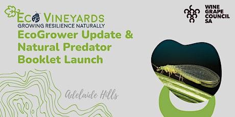 EcoVineyards Update & Natural Predator Booklet Launch tickets