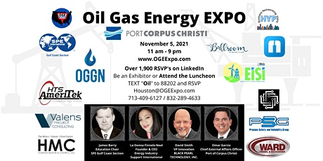 Oil Gas Energy Expo and New Technology Luncheon by BlackPearl tickets