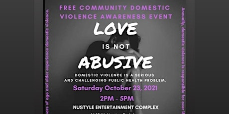 Free Community Domestic Violence Awareness Event tickets
