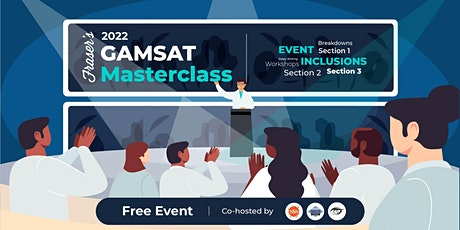 Free GAMSAT Masterclass | In-Person | Cohosted by SSS, BSS & ASHS tickets
