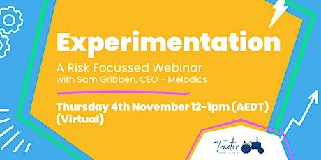 Experimentation feat. Sam Gribben (Founder - Melodics) tickets