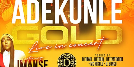 Adekunle Gold Live In Houston at Fusion Saturdays Inside The Domain Lounge tickets