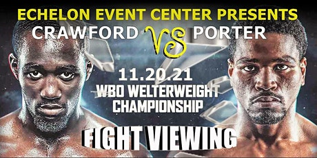Crawford vs Porter VIP Fight Viewing tickets
