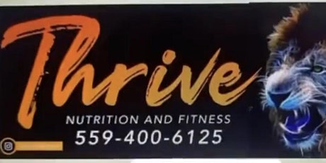 Copy of Thrive Fresno Fit Camp tickets