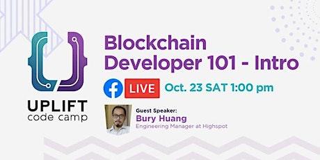 Blockchain Developer 101- Intro tickets