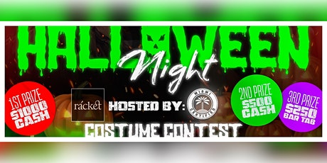 WIN $1000 Cash: Halloween Costume Contest at rácket Wynwood tickets
