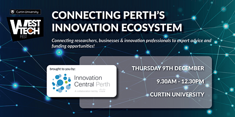 West Tech Fest: Connecting Perth's Innovation Ecosystem tickets