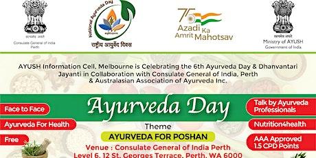 Ayurveda Day tickets