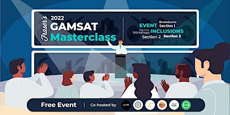 Free GAMSAT Masterclass | In-Person | Cohosted by UQ Societies & QUT BiOMS tickets