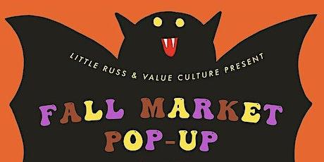 Little Russ x Value Culture Fall Market Pop-Up tickets