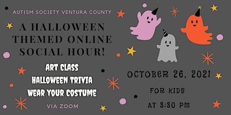 ASD Halloween Social Hour for Kids (Art Class/Trivia)! tickets