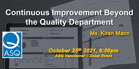 Continuous Improvement Beyond the Quality Department tickets