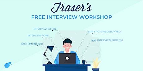Free University of Western Australia Interview Workshop tickets