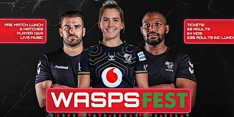 Wasps Fest tickets
