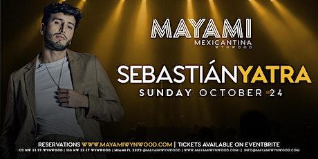 Sebastián Yatra at Mayami Wynwood tickets