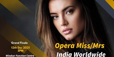 Finale of Miss/Mrs India Worldwide 2021 tickets