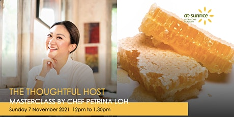 Sunday Luxe Series: The Thoughtful Host, as Masterclass by Chef Petrina Loh tickets