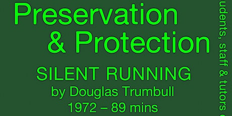 Green Screens: Preservation & Protection tickets
