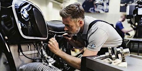 BMW Motorrad Frauen-Schrauberkurs: Selbsthilfe unterwegs Tickets