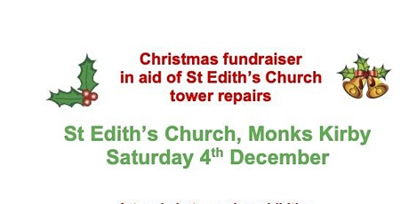 Christmas fundraiser in aid of St Edith's Church tower repairs tickets