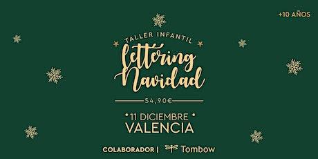 Taller infantil lettering Navidad  RUBIO · 11 diciembre. +10 años entradas