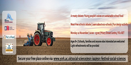 A meaty debate! Young people's voices on sustainable school food tickets