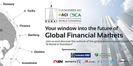Financial Markets -  ACI ICA Conference - 17 - 20, Nov 2021 tickets