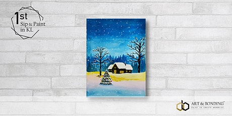 Sip & Paint Night : Home For Christmas tickets