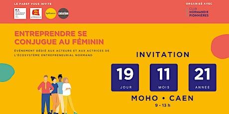 ENTREPRENDRE SE CONJUGUE AU FEMININ billets