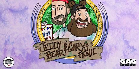 Jeddy Bear & Gary's Picnic tickets