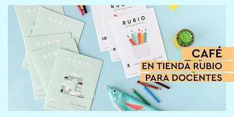 ☕ Café en tienda RUBIO Valencia para docentes entradas