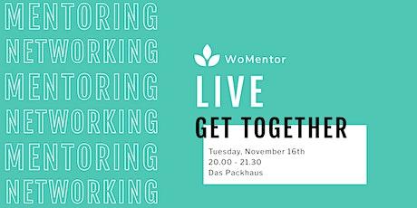 WoMentor LIVE Get Together | November Tickets