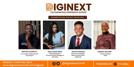 DIGINEXT 2021: The Marketing Experience Summit tickets