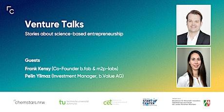 Venture Talk with Frank Kensy and Pelin Yilmaz Tickets