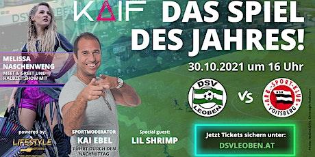Das Spiel des Jahres: DSV Leoben - ASK Voitsberg Tickets
