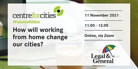 How will working from home change our cities? tickets