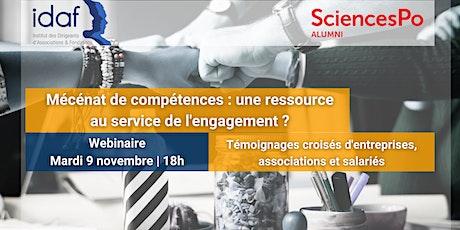 Mécénat de compétences : une ressource au service de l'engagement ? billets