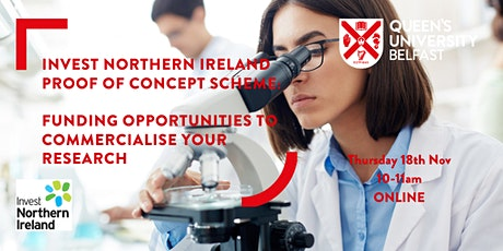 Proof of Concept Scheme: Funding Opportunities for QUB Researchers tickets